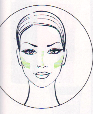 Resultado de imagen de foto corrector verde para rostro